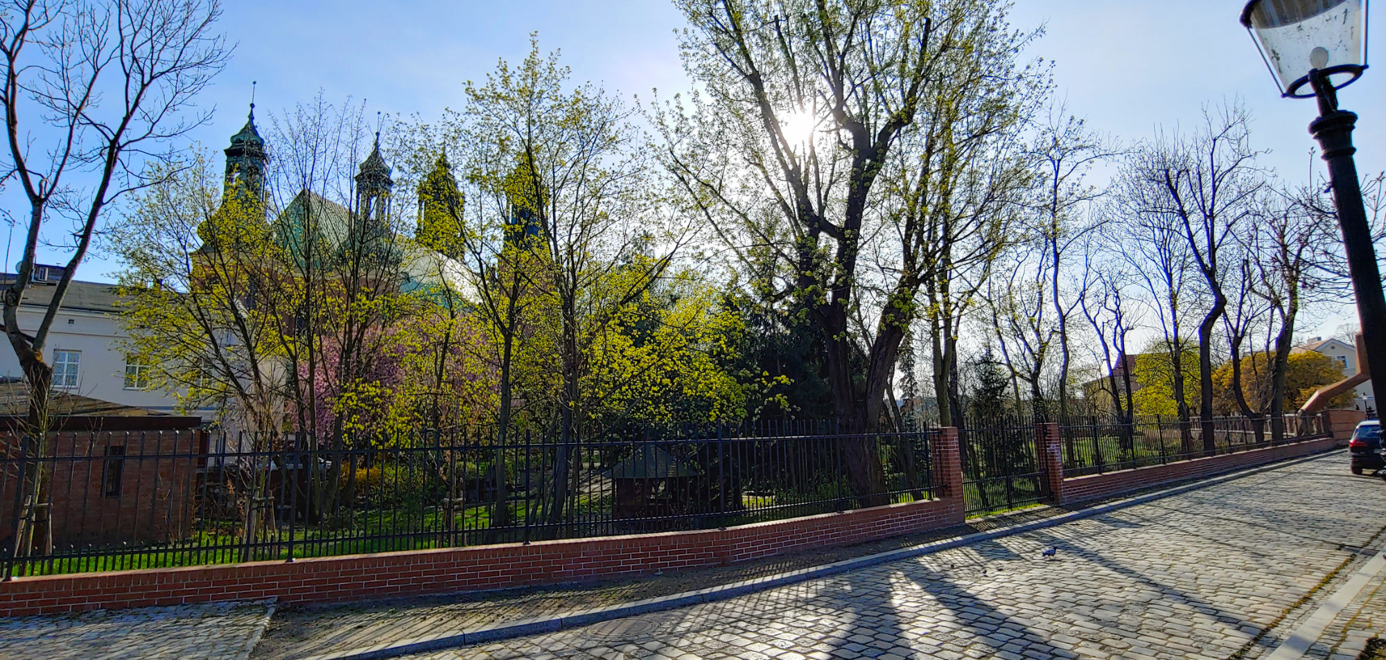 Uliczka za katedrą - Ostrów Tumski